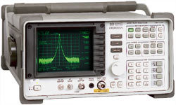 HP/AGILENT 8592B/21 SPECTRUM ANALYZER, 9 KHZ-22 GHZ, W/HPIB